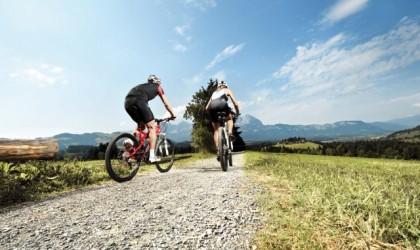 Radfahren und Mountainbiking