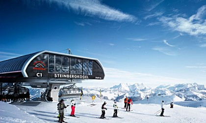 Skigebiet Kitzbüheler Alpen